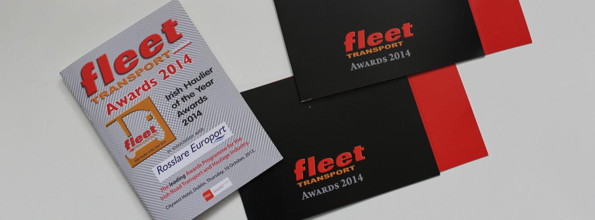 Irish fleet transport awards 2014