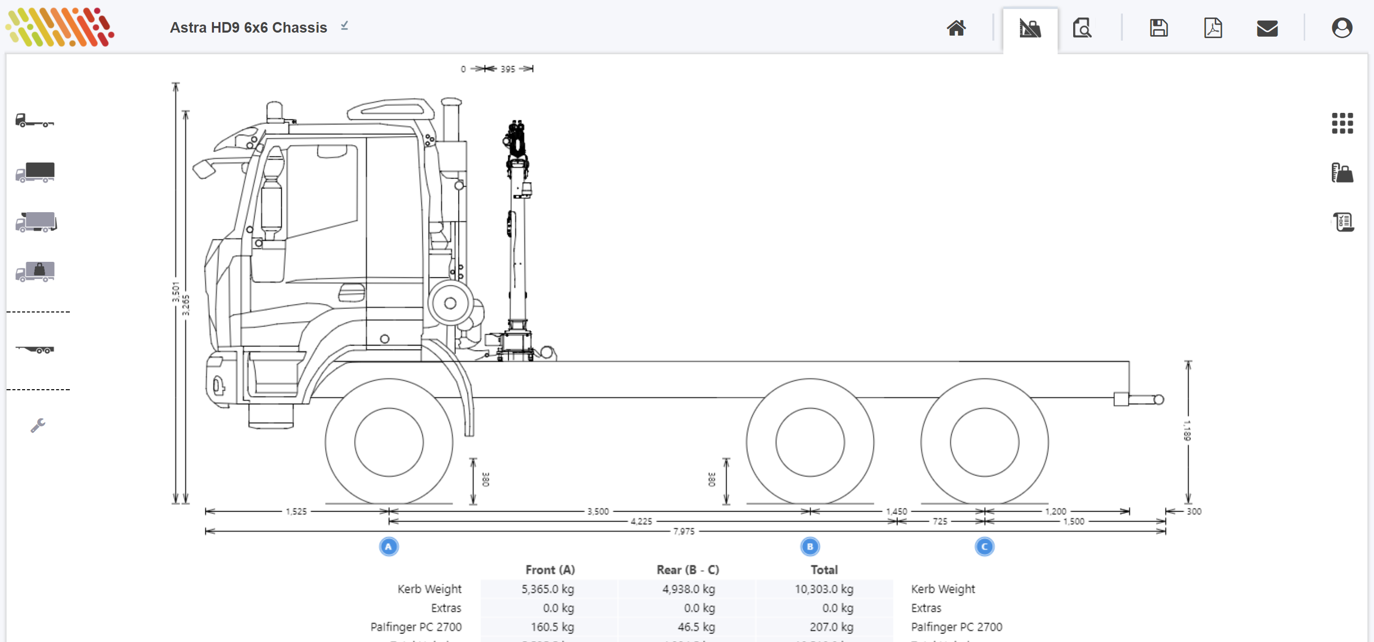 Calculate Axle Weights with a Crane - TruckScience