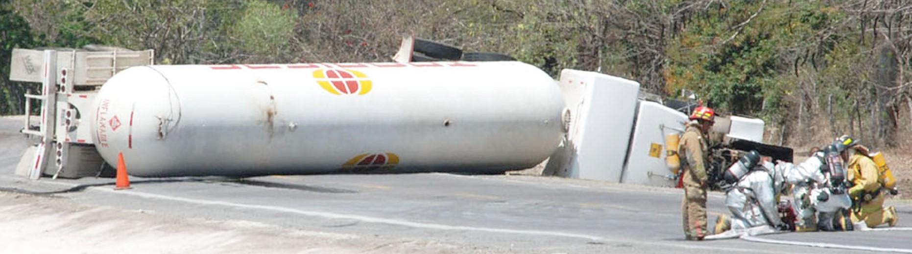 tanker rollover